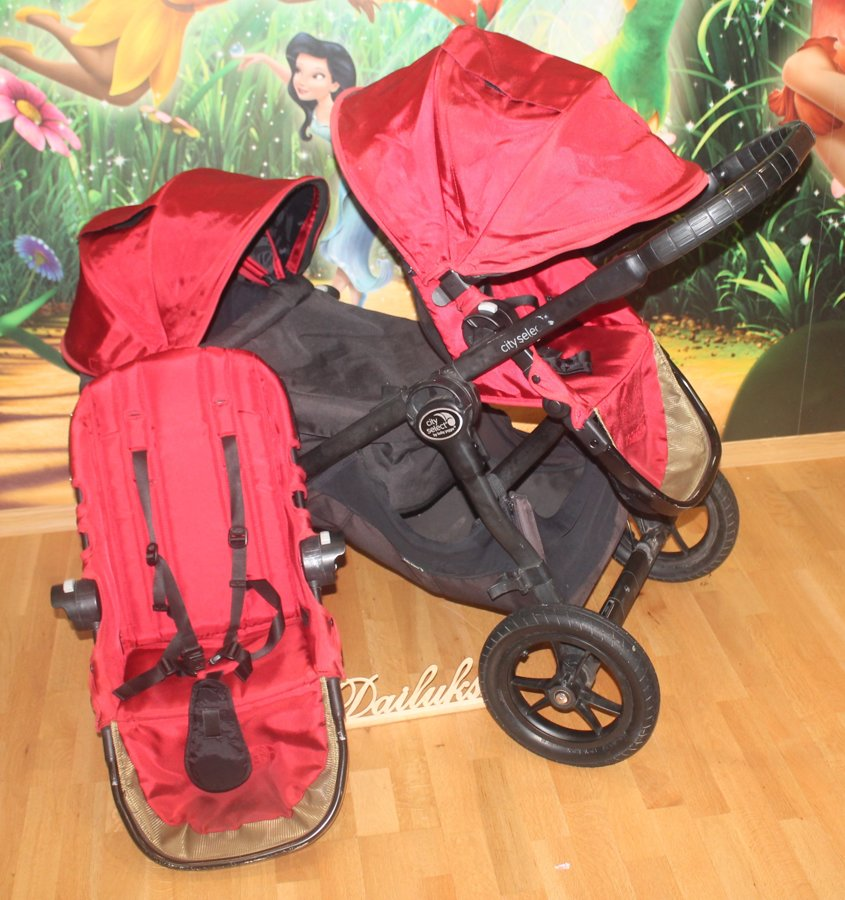 Baby Jogger City select-sarkani